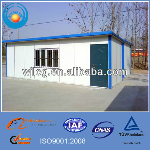 BV verified light steel affordable prefabricated houses