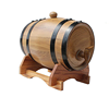Factory direct sale made in china pine oak wood wine beer bucket barrel
