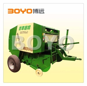 Farm use round hay baler for soybean