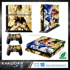 Whole Body VINYL SKIN STICKER DECAL COVER for PS4 Playstation 4 System Console and Controllers