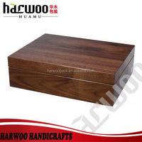 Luxury walnut tea display box for sale