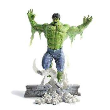 Artificiale in resina hulk figura di cartone animato giocattolo