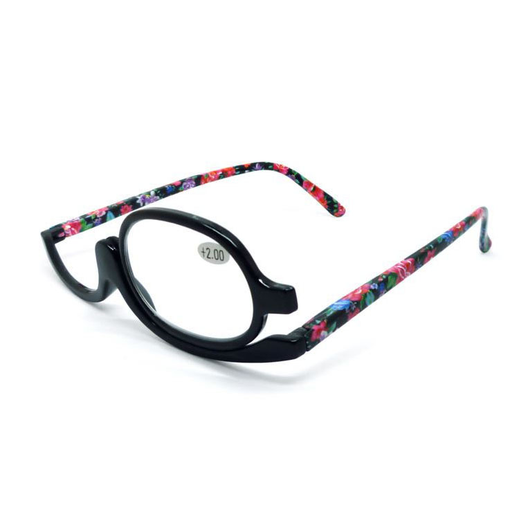 Brightlook Most popular plastic red frame convenience custom ce make up women reading glasses
