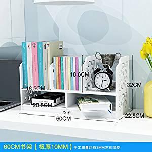 Get Quotations Freestanding Book Shelf Desk Top Organization Home Desktop Organize Rackscomputer