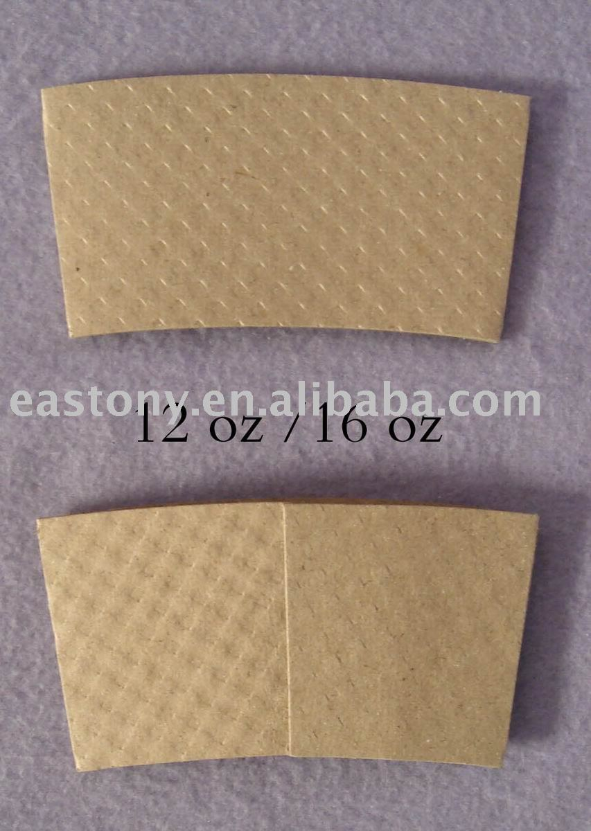Paper Coffee Cup Sleeve