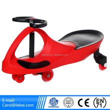 high quality ride on toys plastic Material swing car for children