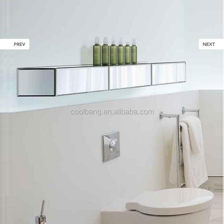 stratifi espresso biseaut miroir cube tagres ensemble blanc en bois tagres murales - Etagere Murale Miroir