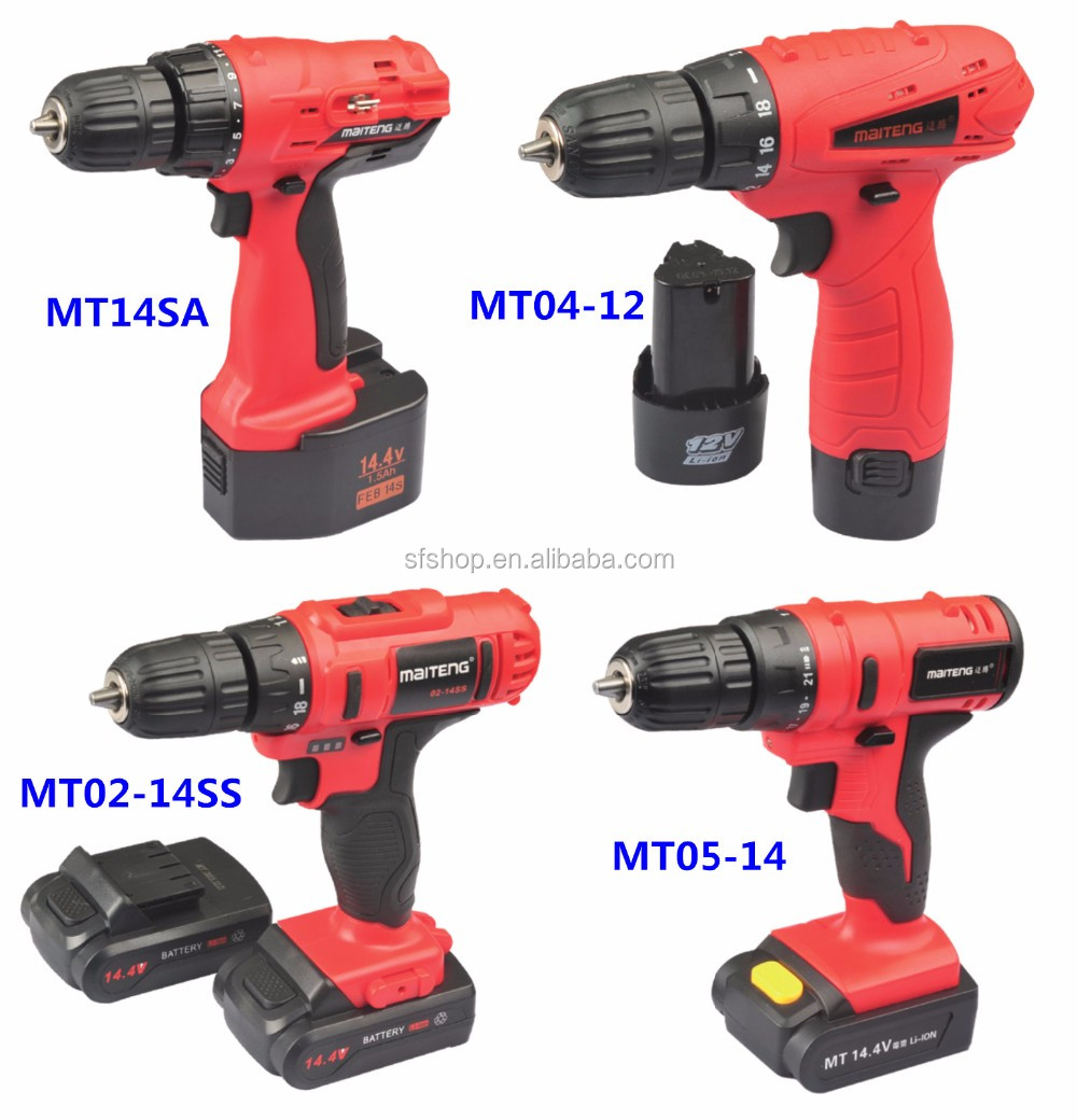 High Speed Drill Electric Power Tool. Battery Operated ...