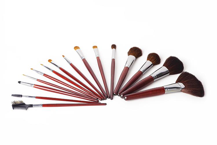 2017 Alibaba MY GIRL high quality diamond zoreya makeup brush set