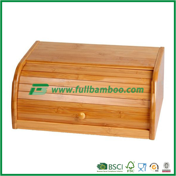 fujian manufacture bamboo bread container