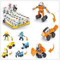 3in1 Robot Figure Star Wars Building Blocks Bricks Toys for Children Construction Boy Vehicles novelty Toy
