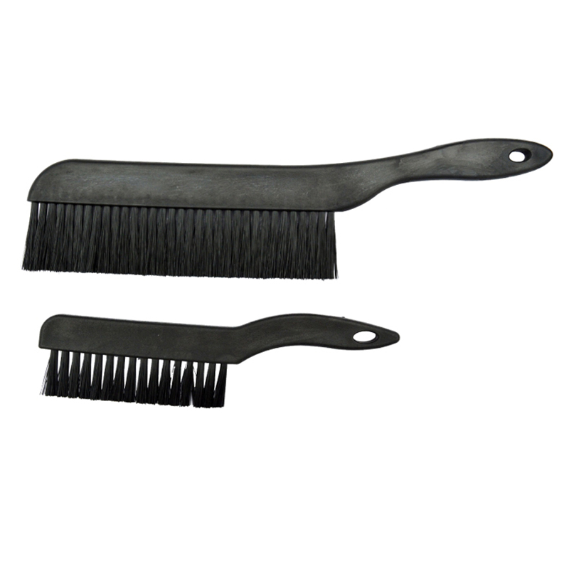 PCB Dust Clean Toothbrush Style Anti Static ESD Brush Black 175mm Length