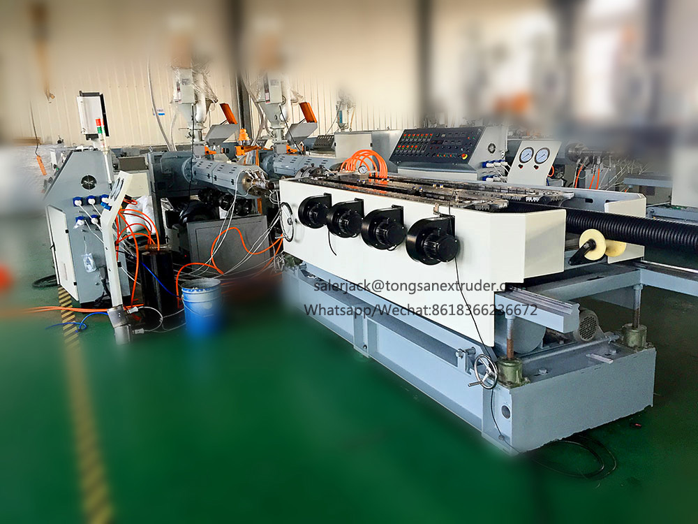 Culvert pipe machine/ Corrugated Drain Pipe Machine (Double Wall) 50-250mm