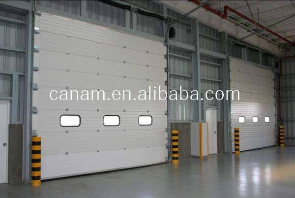 Automatic Sectional High Performance Industrial Sliding Door