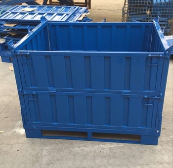 Corrugated Plate Heavy Duty Metal Storage Bins