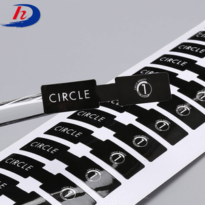 Custom Machine Permanent Non Removable Adhesive Labels Stickers