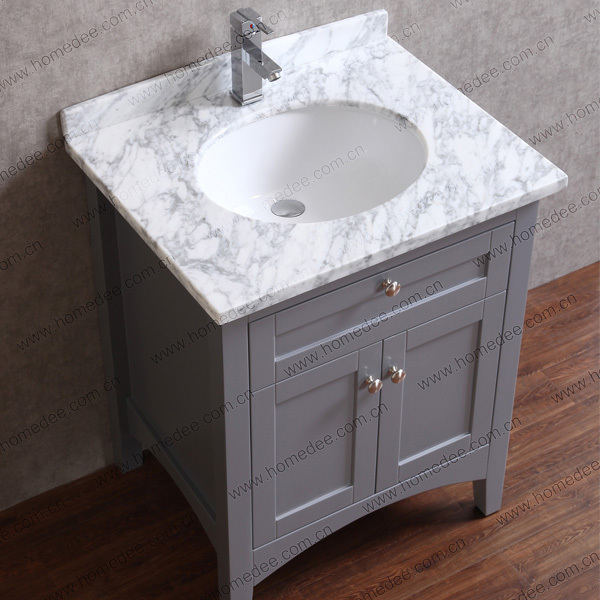 Thin bathroom vanity