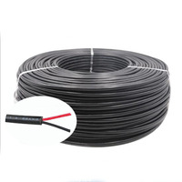 22AWG 20AWG 18AWG UL2464 2 core PVC electrical wire power cable for LED
