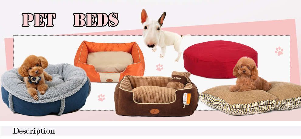2016 Puppy cat lucky pet dog bed shabby chic dog bed