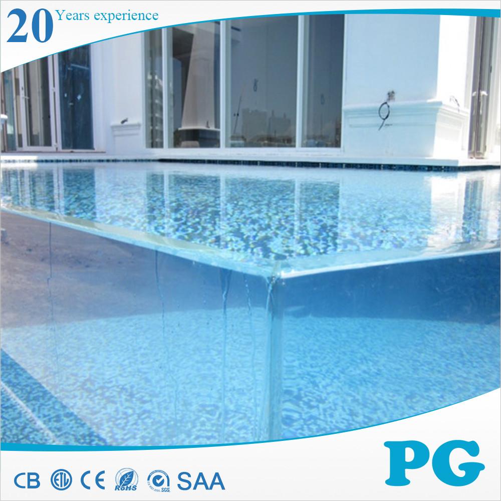 Pg haute standard clair acrylique en plexiglas pour for Piscine en plastique