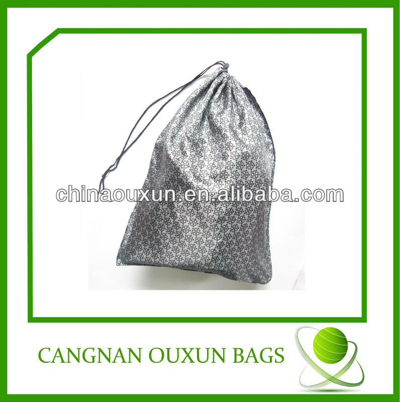 eco-friendly customized nylon mini drawstring gift bags