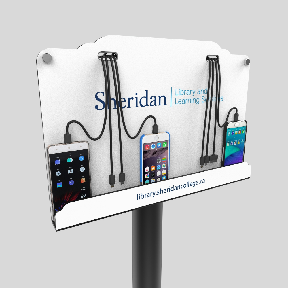 Powerbank station charging station,  mobile phone charging station UC-02