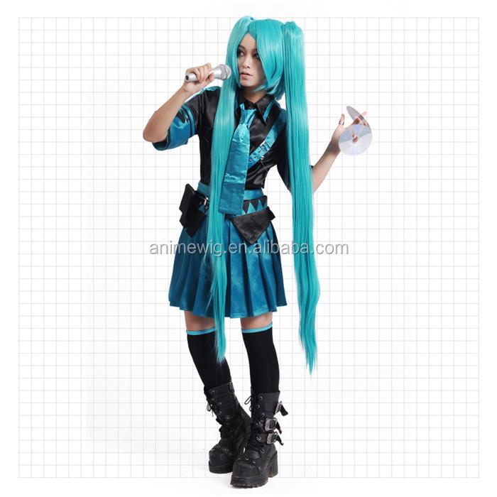 Vocaloid Hatsune Miku Cosplay Costume Full Set Hot sale