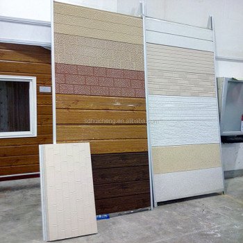 Pu Metal Decorative Insulation Panels,exterior Wall