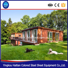 Shipping 20 and 40 feet high-quality steel framed small mobile homes container houses for sales