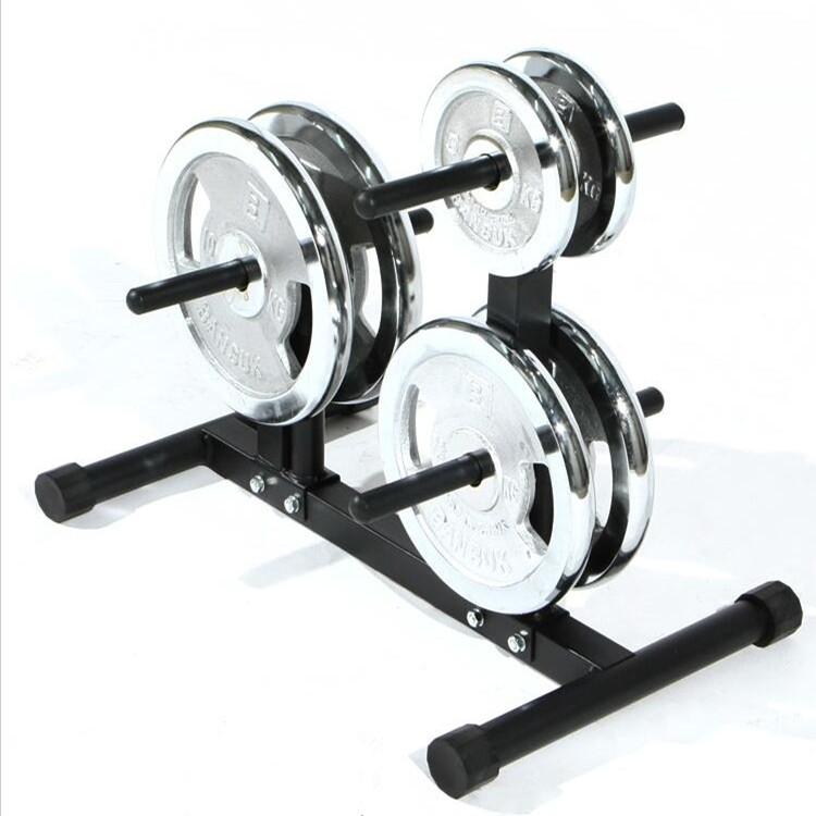 Barbell Dumbbell Rack Weights Storage Stand for Home Gym Bench Base