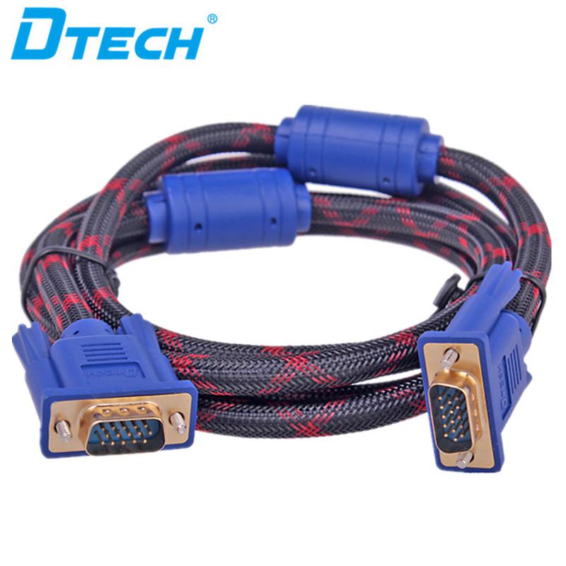 Innovative Produkte VGA-Kabel 3 + 6 20M-Stecker / Stecker-Videokabelstecker in China hergestellt