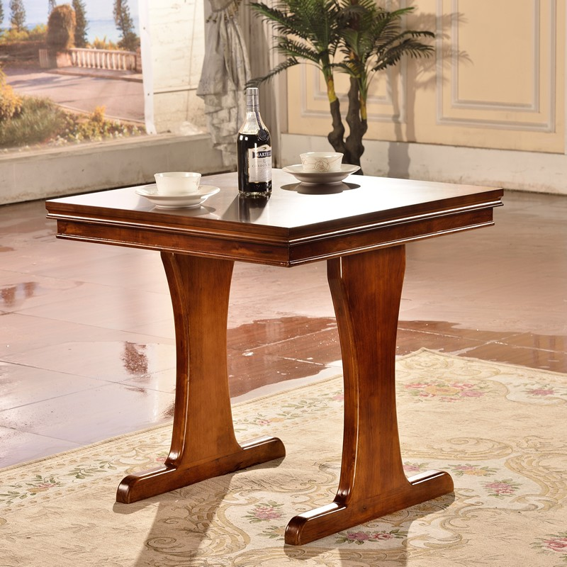Western Style Wooden Dining Table
