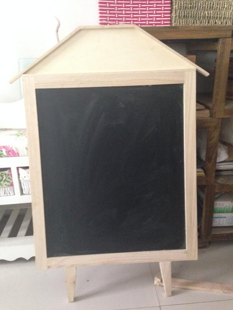 Decorative Chalkboard For Kitchen House Shape Display Cafe Chalkboard Vintage Style Big Size Standing Writing Board 57 80cm Buy Decorative Chalkboard For