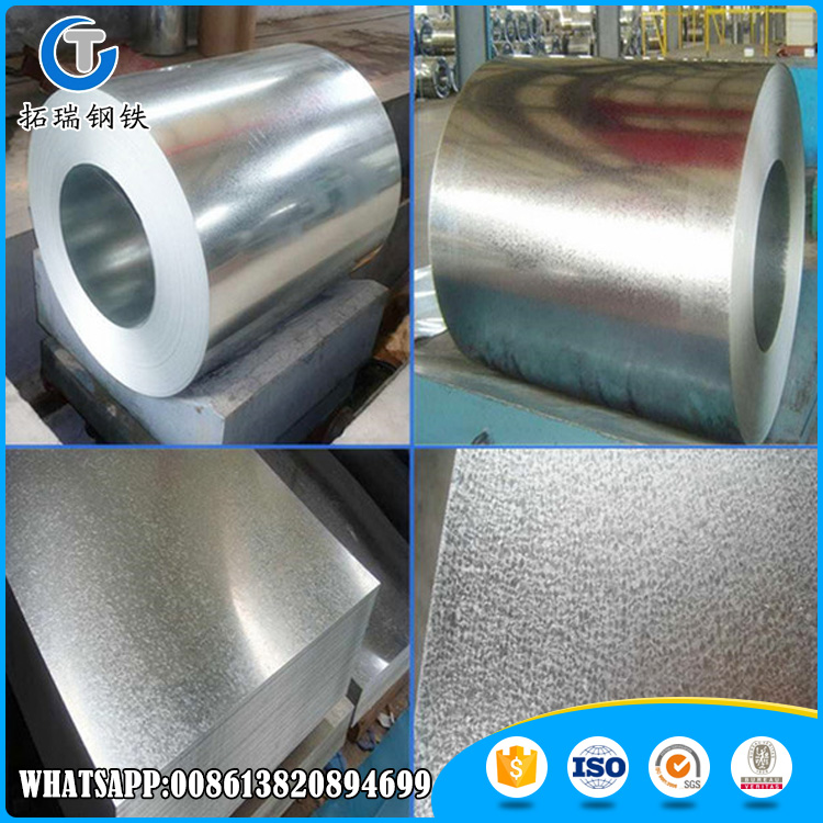 China Manufacture JIS G3302 Hot Dipped Galvanized Steel In Coil For Building Material