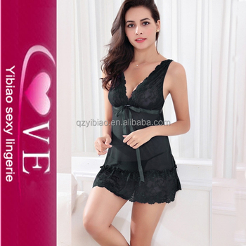 fbfe3a6bc0 Sexy China Lingerie Factory Wholesale Hot Open Girls Wedding Night Erotic Night  Dress