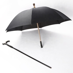 High quality waterproof uv protection windproof Walking walker stick umbrella
