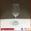 wholesale plastic champagne goblet 600ml acrylic red wine glasses