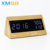 KH-WC036 KING HEIGHT Factory Direct Discount OEM Accept Triangle Digital Table Alarm Wooden Desk Clock