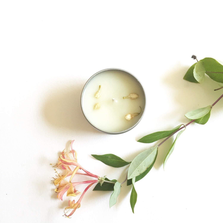 24 honeysuckle jasmine candle favors handpoured soy candles 4 oz vegan wedding favors bridal shower housewarming baby shower thanksgiving