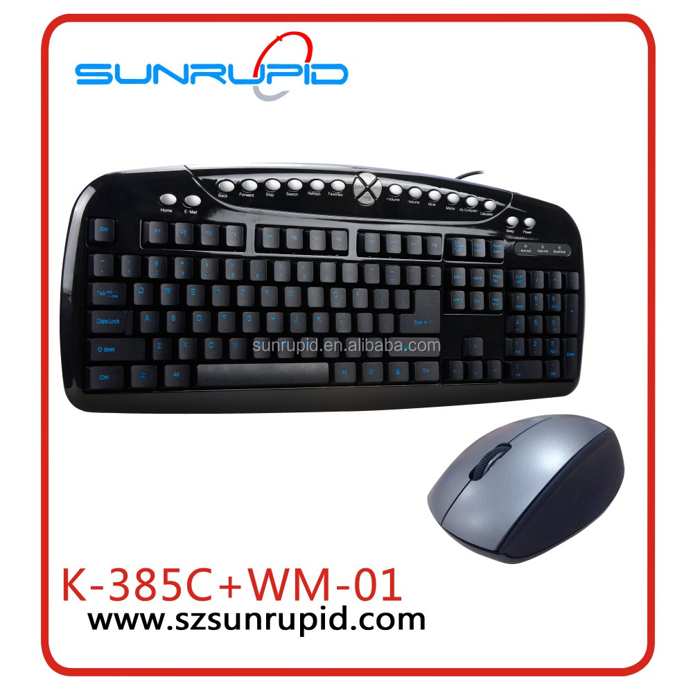 Customized Logo Small Computer 2.4GHz Wireless Mouse And Keyboard