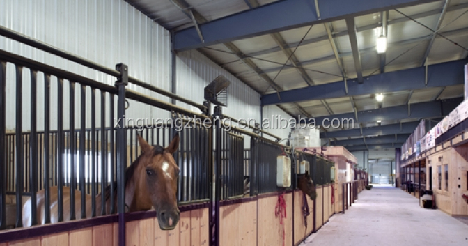 steel structure horse shed with ISO certification