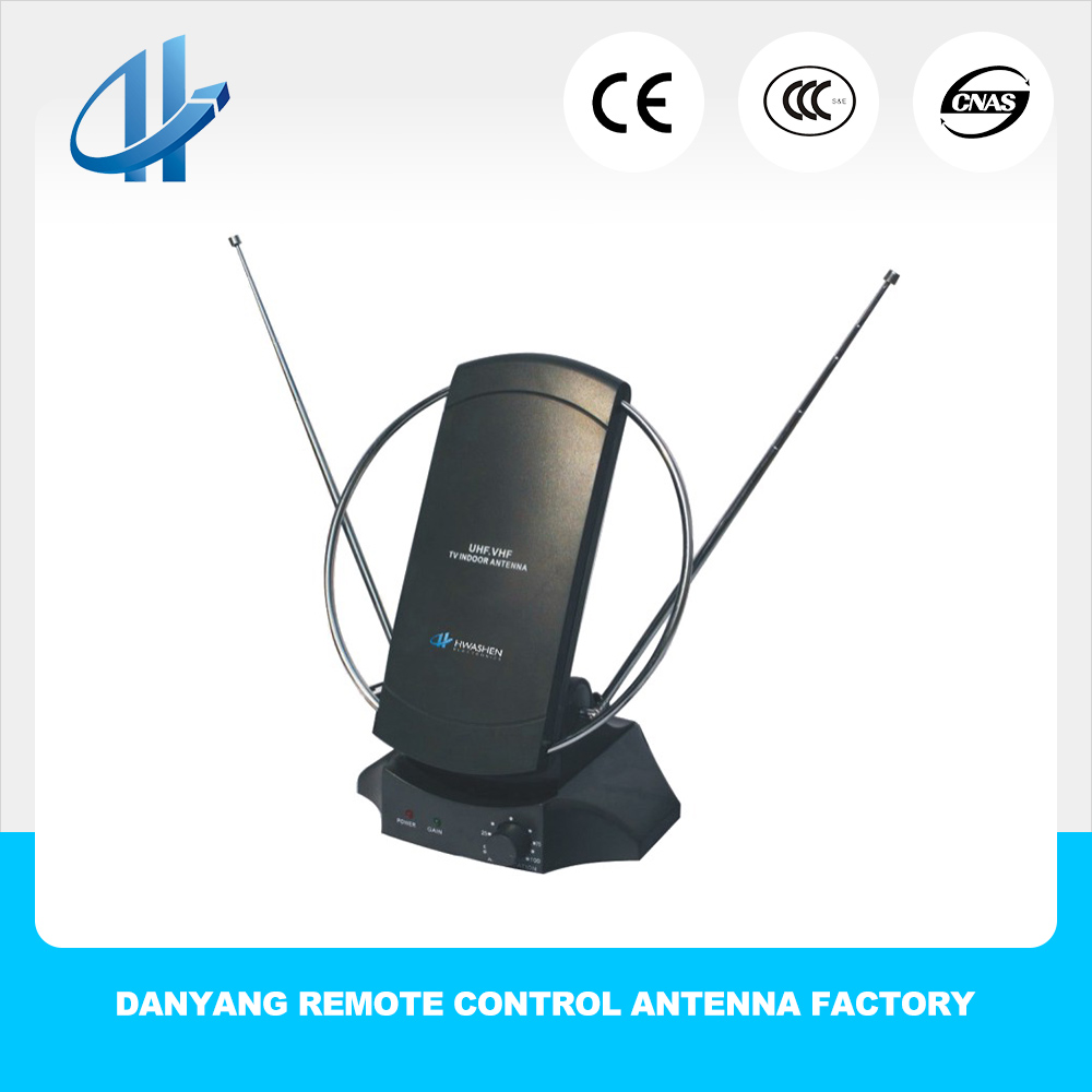 Factory Price UHF VHF DVB Magnetic Mount Antenna Digital Portable DVB T-2 CB TV Antena Digital With RG174 Cable 5M