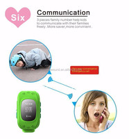 Fashionable Children smart watch phone kids The Best Bluetooth Hand Cell Phone gps tracking location device support android gps