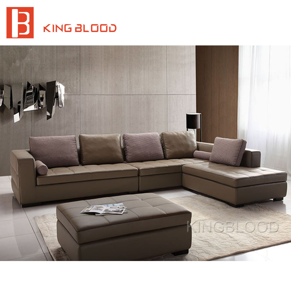 2017 latest cheap housse de chaise living room sofa design leather corner sofa