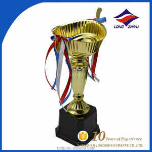 Good price die casting ribbon big trophy