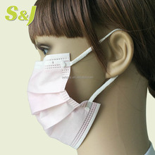 Sterile Non-woven Disposable 3ply Ear loop Face Mask