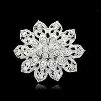 Manufacturer New Design Trendy Crystal Cheap Bulk Brooch