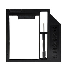 China Factory 8.9mm-9.0mm Universal SATA 2nd HDD SSD Hard Drive Caddy for Laptop /PC /CD-ROM