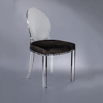 Cristal Sillas Buy Comedor Comedor Habitación Acrílico Para De Lucite silla Real La Maquillaje Elegante Silla PiTOXZuk