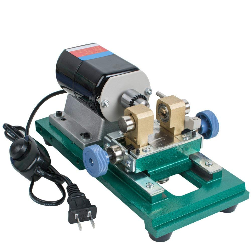 Zinnor 200W Full Set Jewelry Pearl Stepless Drilling Holing Machine Driller Tools 110V(Ship from US)